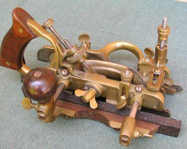 Stanley Brass Copy Gunmetal Combination Plane