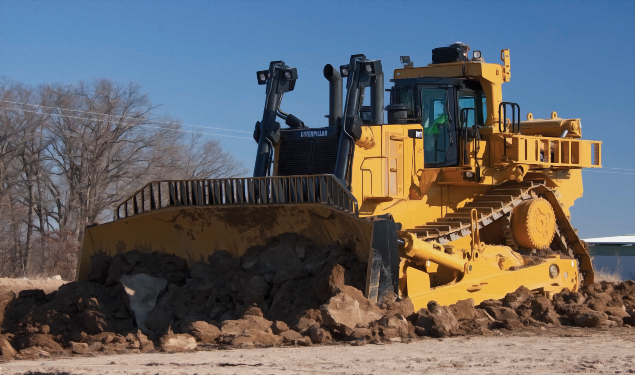 Dozer Data Reveals The World's Biggest Bulldozer