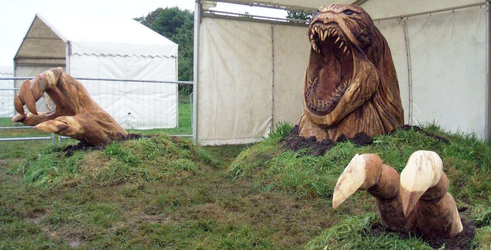 The Awesome World of Chainsaw Carving