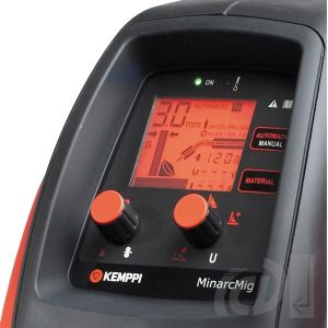 Kemppi MinarcMig EVO 200 graphic display