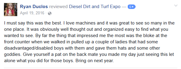 DDT expo customer review