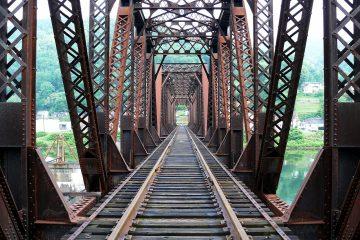 Truss Bridge Railway