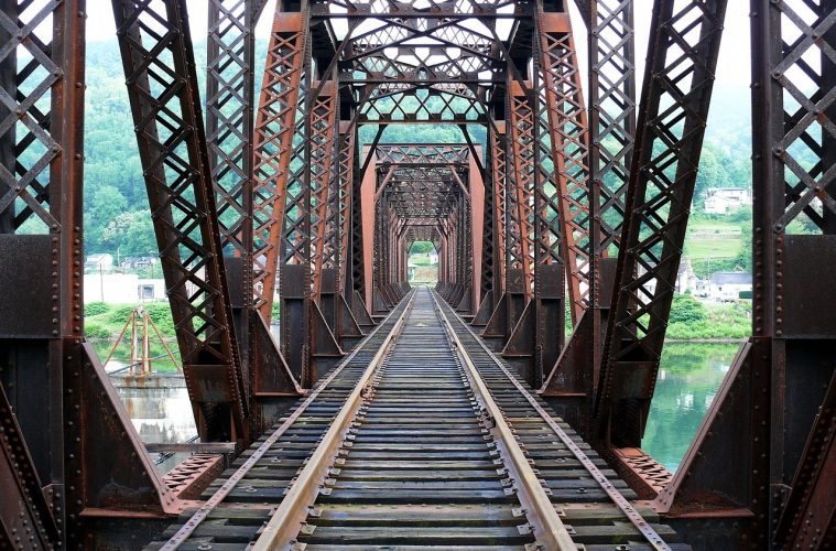 Truss Bridge Railway