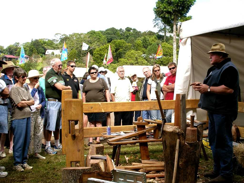 Maleny Wood Expo Demonstration