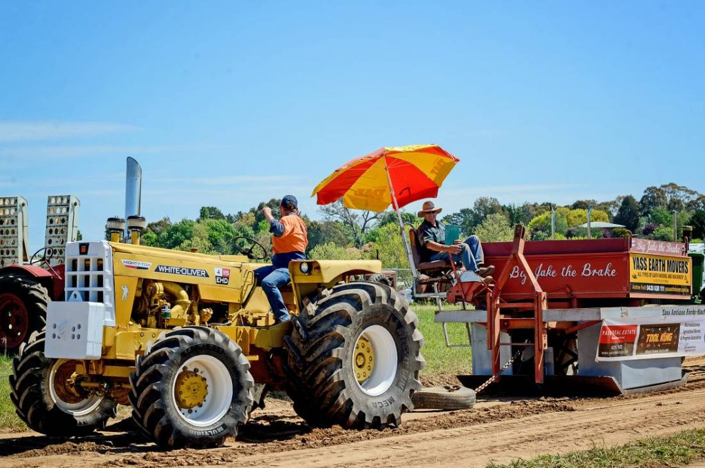 Murrumbateman Field Days Tractor Pull