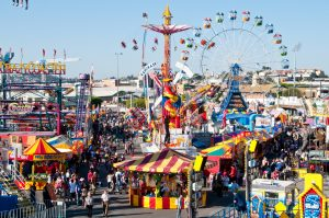 The Ekka in full swing