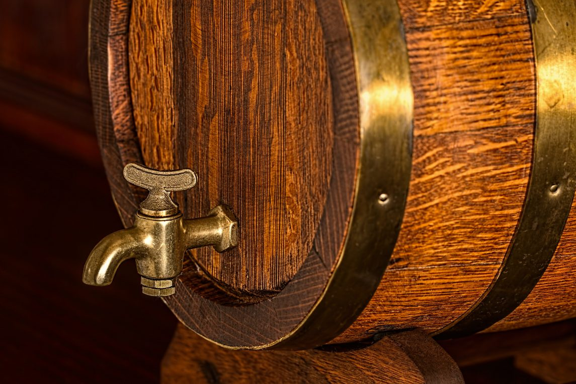 beer barrel keg cask oak
