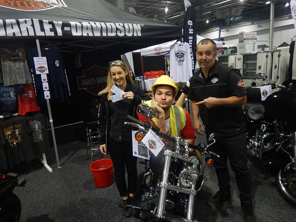 Nova 919 Casanovas at the Adelaide Tradie Mate Expo