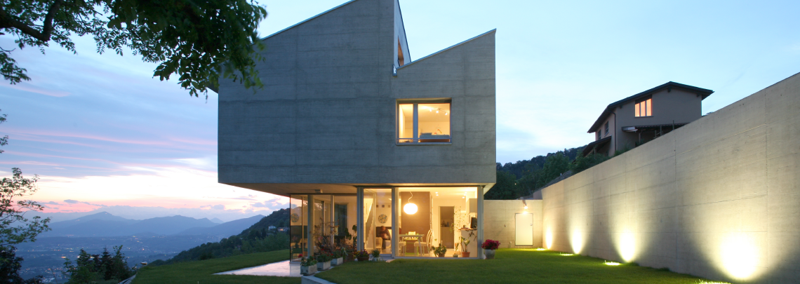 A contemporary home