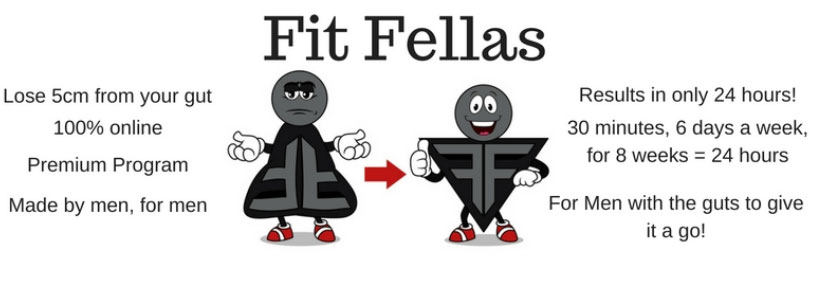 Men's health week fit fellas goals - improving physical and mental health