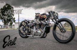 Eval Upheval Custom Motorbike