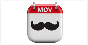 Movember on the calender