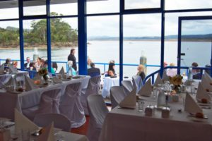 The view from the Waterfront Function Centre in Devenport