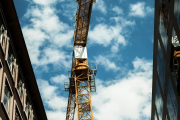 Tower crane erection