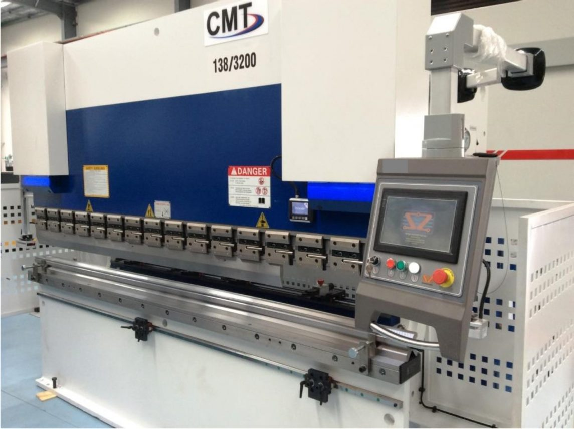 CMT Releases New Press Brake with Defender Plus Guarding System