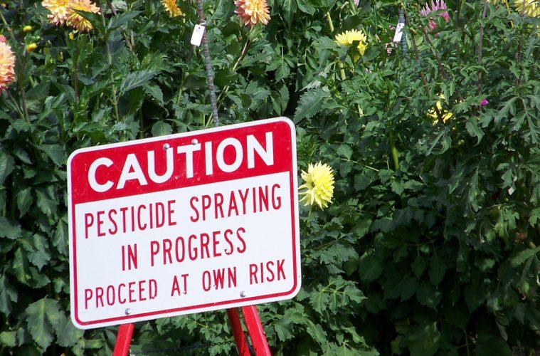 Caution pesticides