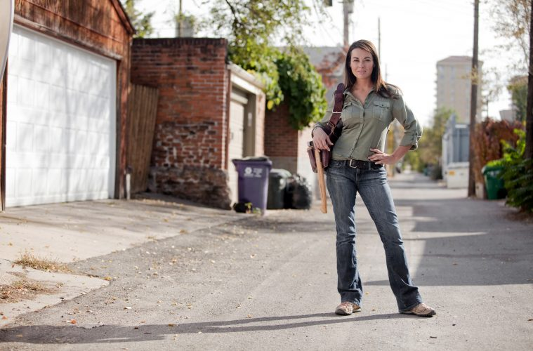 Construction Queen Kayleen McCabe on DIY Home Renovations  Construction Qu...