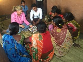 Indian Women Farming