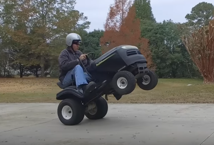 Monster Mowers: Turn Your Ride-On into a Racer