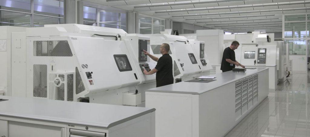 mazak vortex machining center at mclaren