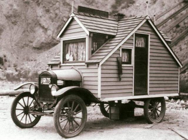 1920s house on wheels