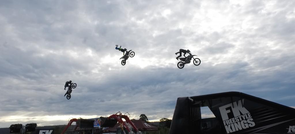 motorcross was amazing
