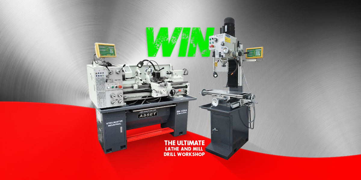 Want to Win Some Top of the Line Metalworking Machines?