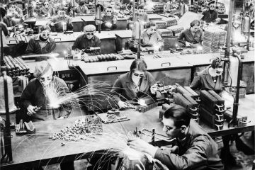 Old school manufacturing of electrolux goods
