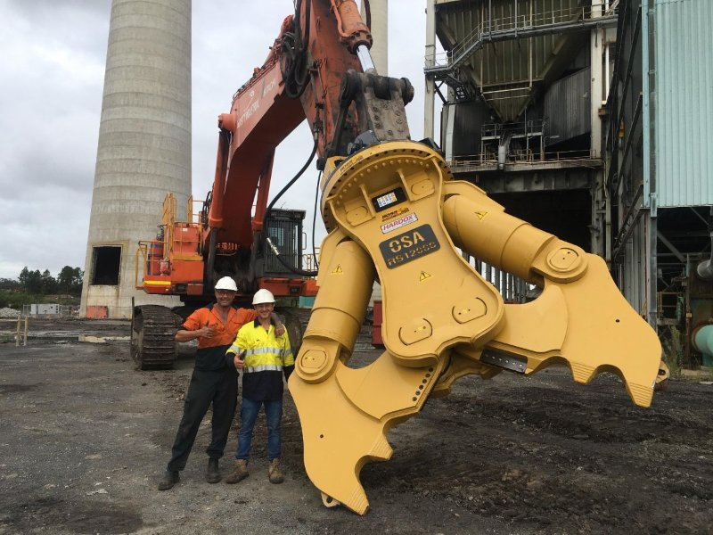 Australia's Largest Attachment: The OSA RS12000 Crusher