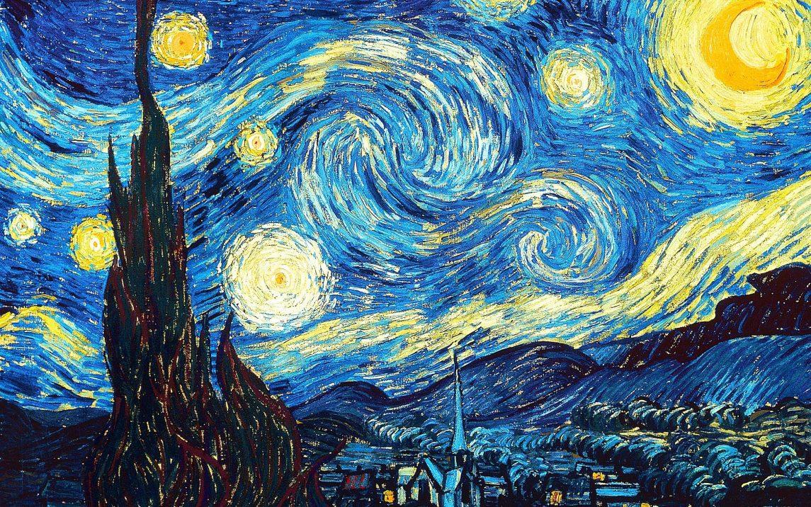 The Starry Night Van Gogh