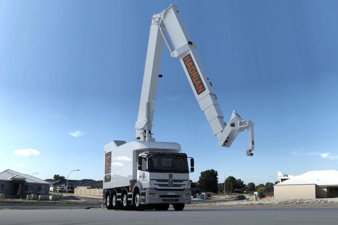 Hadrian x vehicle mounted model