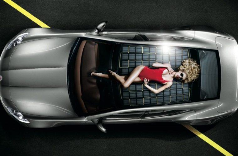 Electric car Fisker ads