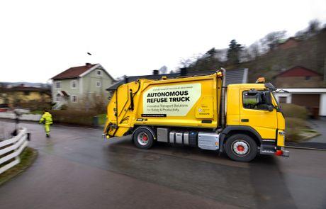 driverless garbage truck