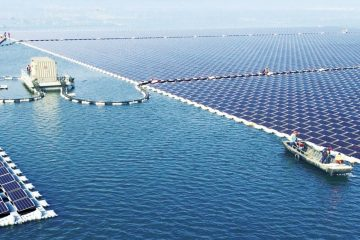 World's largest floating solar plant