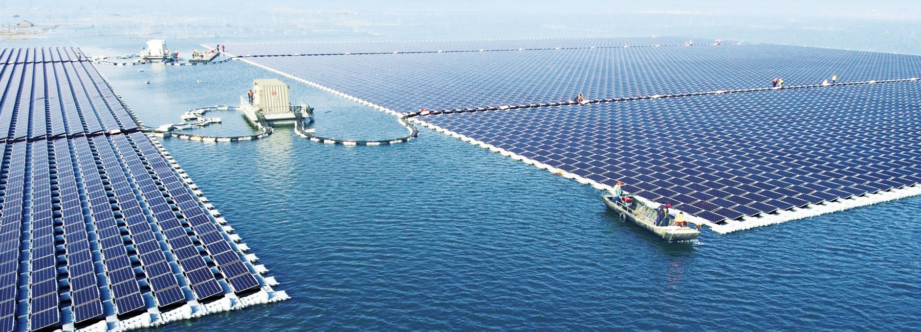 Where in the World is the Biggest Floating Solar Station?