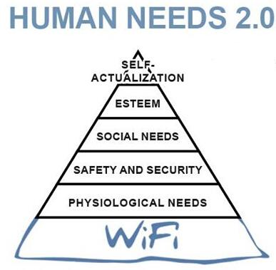 wifi is a basic human need