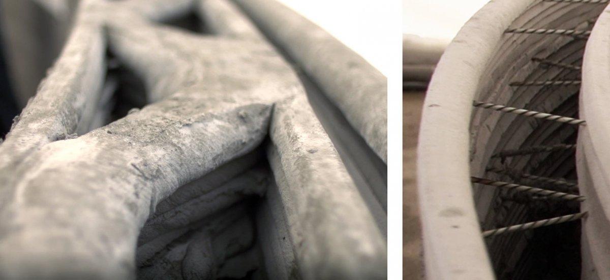 apis core 3d printed building close ups