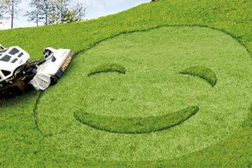 cute robot tractor