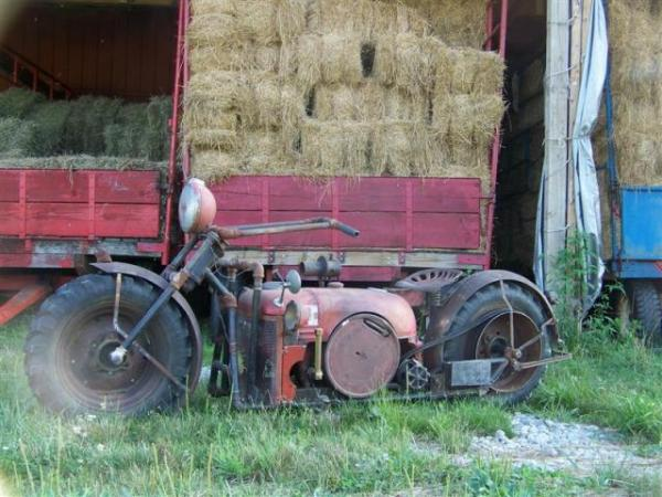 tractor motorcycle