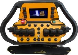 hms hetronic RC mini loader controls