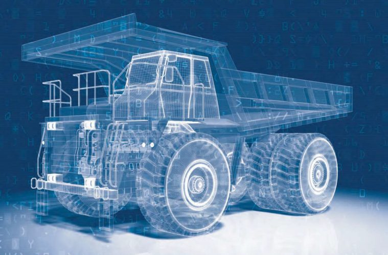 Austmine The Digital Mine dump truck