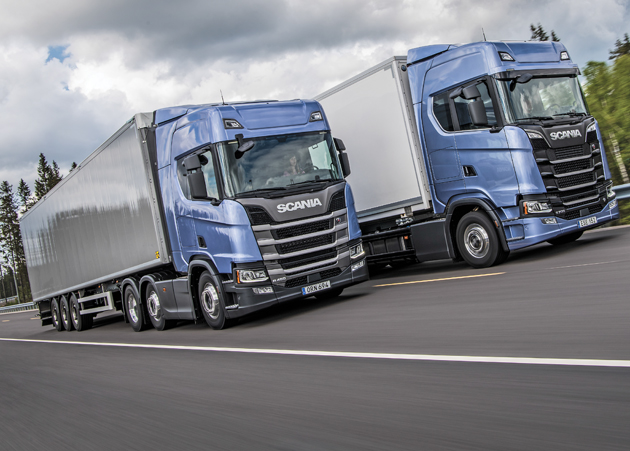 Scania's New $3 Billion Truck Range Takes Out Top Gong