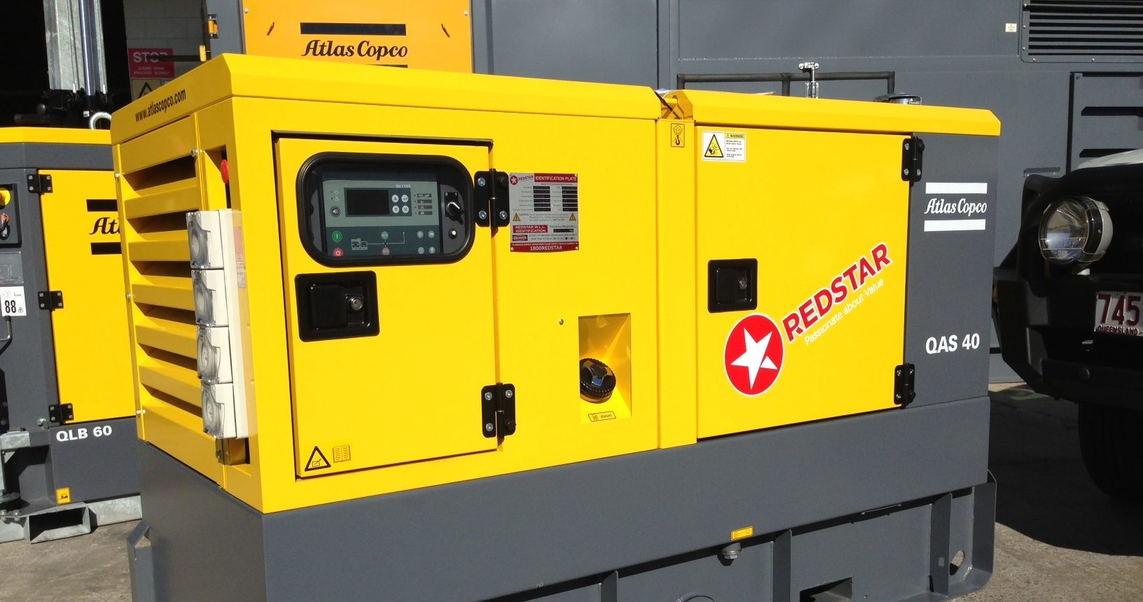 Atlast Copco Reaches More Customers with Redstar Equipment