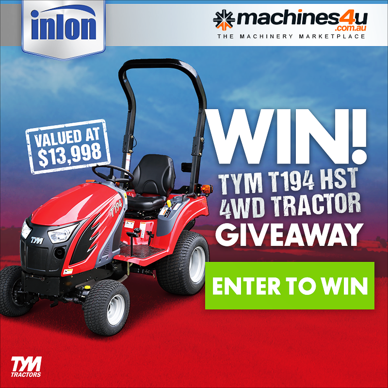 Win an Inlon TYM 4WD Tractor at Elmore Field Days!