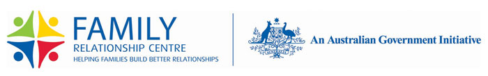 Family Relationship Centre and Australian Government logos