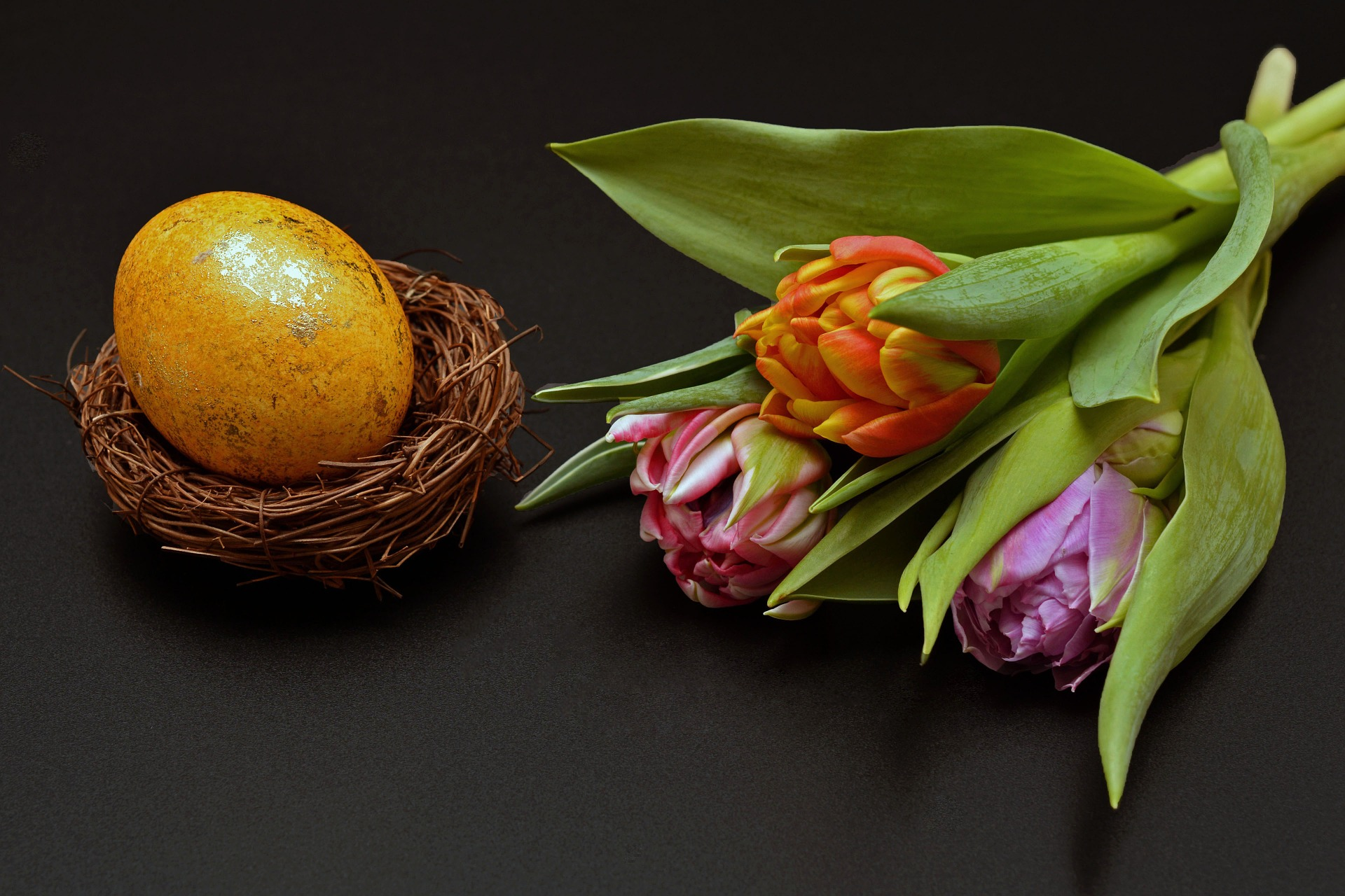 Flower Arrangement - Easter
