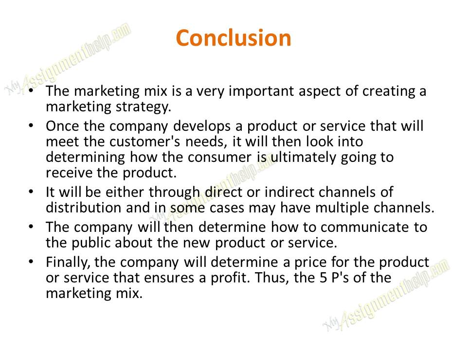market mix essay Use this example of a marketing mix and marketing mix models, such as a permission-based email marketing sample although the market will dictate what it pays.