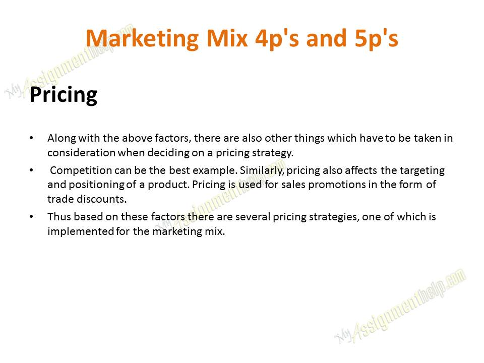 case study marketing mix product The marketing mix is also unique ensure your company or product is positioned correctly to achieve maximum impact and awareness.