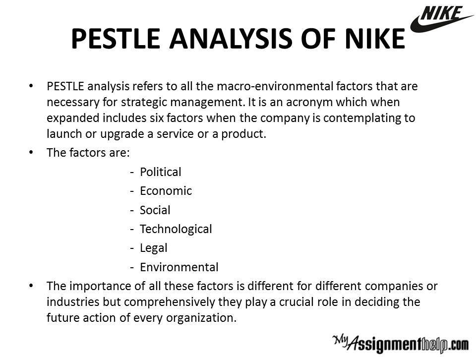 Pestle Analysis - Swot Analysis Assignment - Pestle & Swot Case