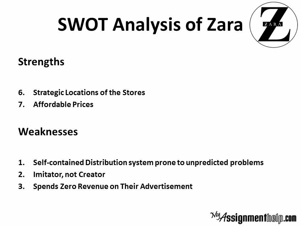 Zara Swot Zara Case Study Pestle Swot Analysis Zara Case Study